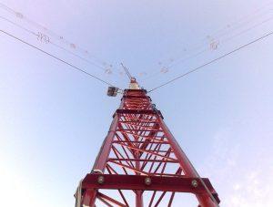 Nueva torre meteorológica
