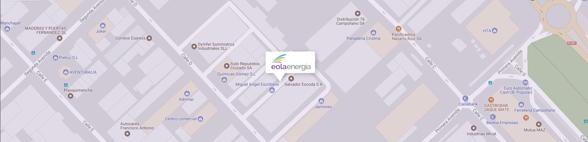 Mapa ubicación EolaEnergía